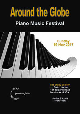 Around the Globe Piano Music Festival Magazine