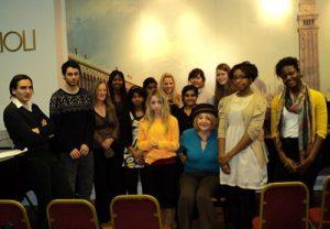 Marina sa studentima